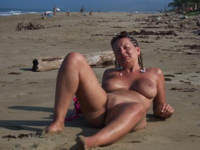Beautiful Outdoor Milf